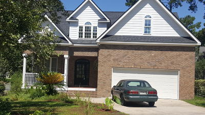 North Charleston Single Family Home For Sale: 8612 Woodland Walk