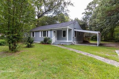 Charleston Single Family Home For Sale: 7641 Selma Street