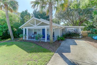 Isle Of Palms SC Single Family Home For Sale: $895,000