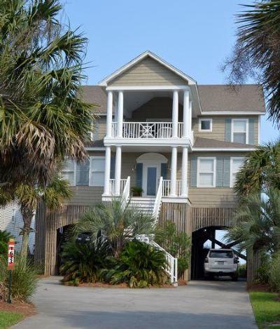 Folly Beach Single Family Home For Sale: 1633 E Ashley Avenue