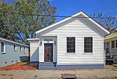 Charleston Single Family Home For Sale: 30 Kennedy Street
