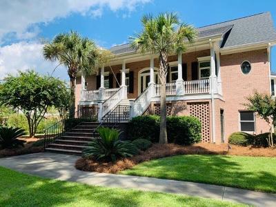 Mount Pleasant Single Family Home For Sale: 3849 Colonel Vanderhorst Circle