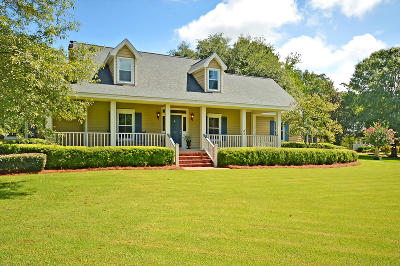 Summerville Single Family Home For Sale: 105 Brownfield Drive