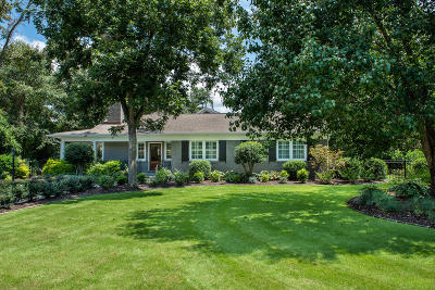 Mount Pleasant Single Family Home For Sale: 983 Tall Pine Road