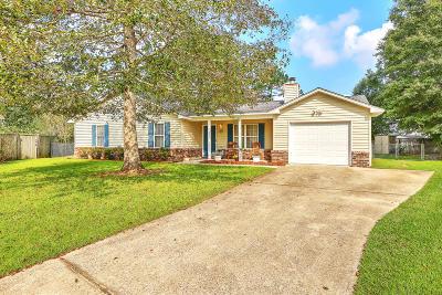 Summerville Single Family Home Contingent: 105 Hialeah Court