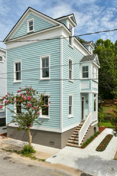 Charleston Single Family Home For Sale: 7 E Hampstead Square
