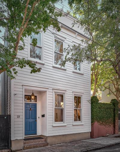 Charleston Single Family Home For Sale: 23 Felix Street