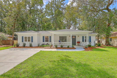 Charleston Single Family Home For Sale: 1325 S Sherwood Drive