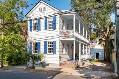 Charleston SC Single Family Home For Sale: $750,000
