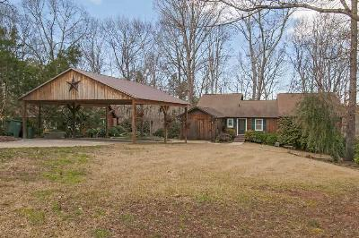 Single Family Home Sold: 1164 Cartee Road