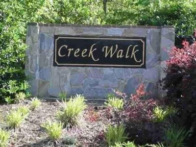 Creekwalk Residential Lots & Land For Sale: 107 Creekwalk