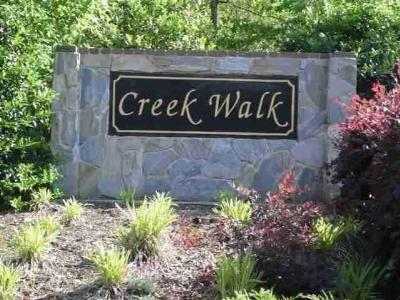Creekwalk Residential Lots & Land For Sale: 132 Creekwalk Drive