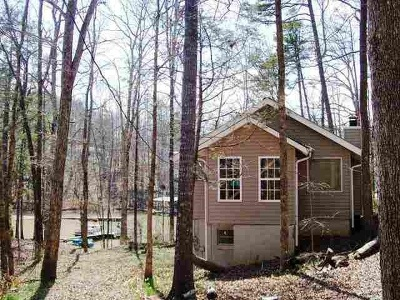 Single Family Home For Sale: 445 & 447 Shelor Ferry