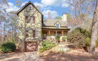 Hartwell Single Family Home For Sale: 95 Barefoot Bay