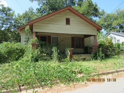 Single Family Home Under Contract: 1414 Watson St