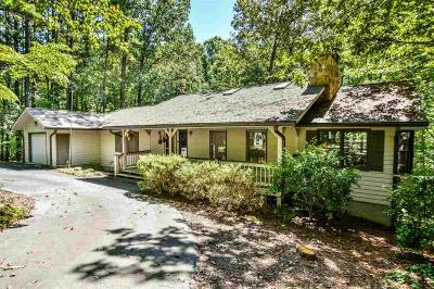 Keowee Key Single Family Home Contract-Take Back-Ups: 21 Commodore Drive