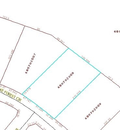 Pritchard Creek Residential Lots & Land For Sale: Lot 40 Lake Forest Circle