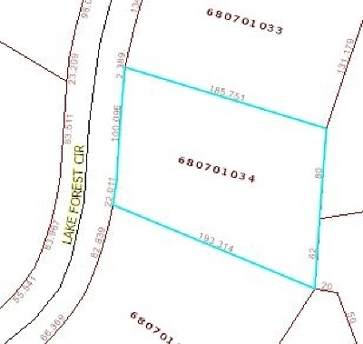 Pritchard Creek Residential Lots & Land For Sale: Lot 13 Lake Forest Circle