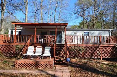 Lavonia Mobile Home For Sale: 57 Stillwater Rd