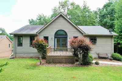 Anderson, Fair Play, Lafrance, Townville, Westminster, Lake Hartwell, Seneca Single Family Home For Sale: 23336 White Harbour Road