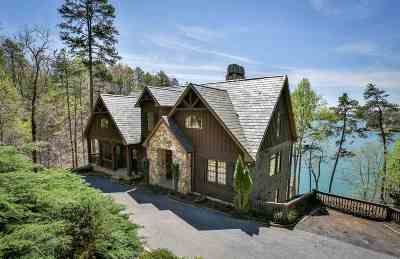 The Reserve At Lake Keowee Single Family Home For Sale: 142 South Falls Road