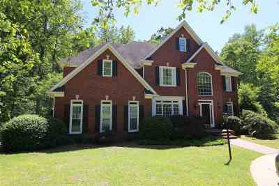 Clemson Single Family Home For Sale: 114 Santee Trail