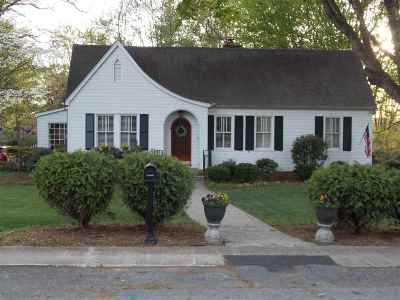 Single Family Home For Sale: 413 North B