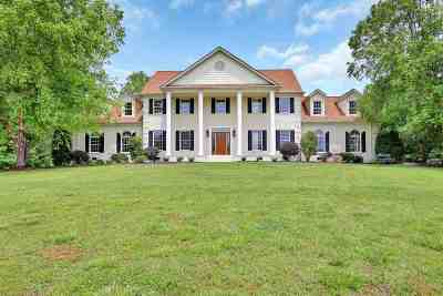 Anderson Single Family Home Under Contract: 1525 Evergreen Road