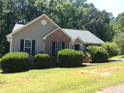 Anderson County Single Family Home Under Contract: 611 Fant Drive