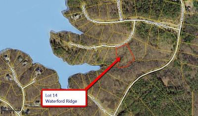 Residential Lots & Land For Sale: Lot 14 Waterford Ridge
