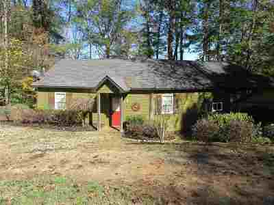 Lavonia GA Single Family Home Under Contract: $165,000