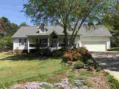 Chickasaw Point Single Family Home Contract-Take Back-Ups: 134 Fairway Lane