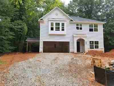 Clemson Single Family Home Contract-Take Back-Ups: 193 Holden Dr.