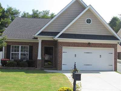 Cobblestone West Single Family Home Contingency Contract: 125 Abigail Lane
