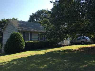 Hartwell Ridge Single Family Home For Sale: 2007 Quail Ridge Road