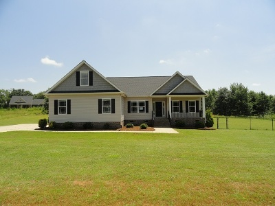 Anderson County Single Family Home Under Contract: 128 Saddle Brook