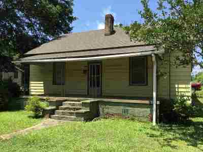 Single Family Home Contingency Contract: 402 Hayes Street