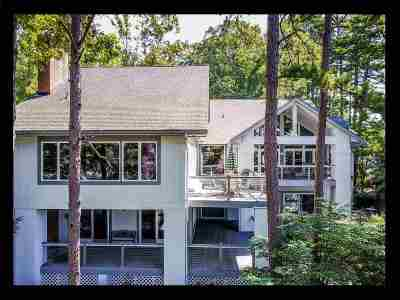 Keowee Key Single Family Home Contract-Take Back-Ups: 44 Quartermaster Drive