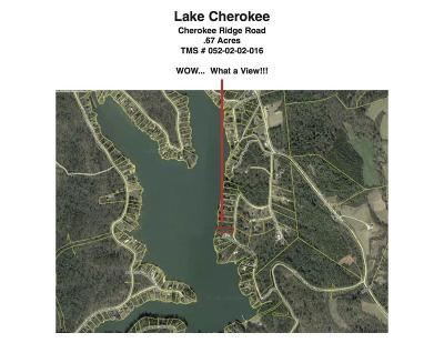 Oconee County Residential Lots & Land For Sale: 326 Cherokee Ridge Road