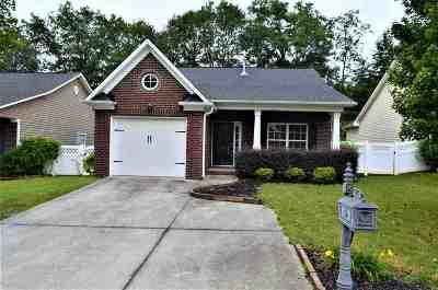 Cobblestone West Single Family Home For Sale: 124 Abigail Lane