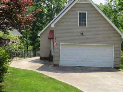 Anderson SC Single Family Home For Sale: $178,500