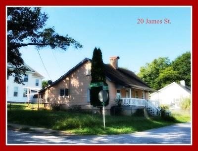 Seneca Single Family Home For Sale: 20 James Street