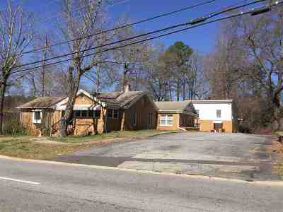 Easley Single Family Home Contract-Take Back-Ups: 540 Gentry Memorial Highway