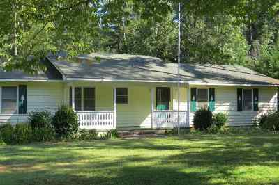 Hart County, Stephens County, Franklin County Single Family Home Under Contract: 490 Tahoe Trl