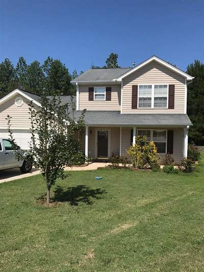 Anderson County Single Family Home Under Contract: 130 St James Court