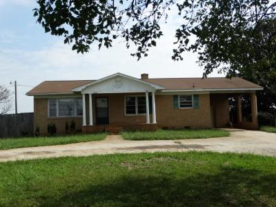 Oconee County Single Family Home Contract-Take Back-Ups: 2130 Hwy 59