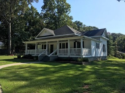 Pendleton Single Family Home Contract-Take Back-Ups: 1608 Sandy Springs Road