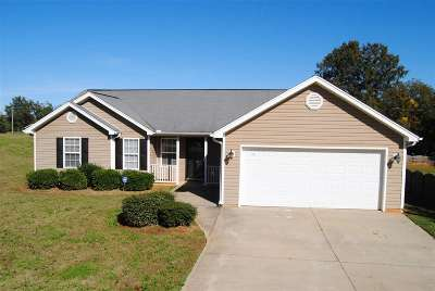Anderson County Single Family Home For Sale: 103 Stevens Court
