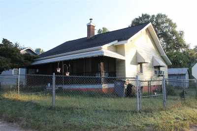 Greenville SC Single Family Home For Sale: $54,900