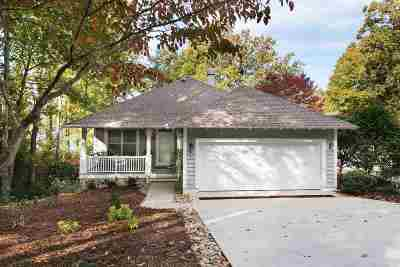 Keowee Key Single Family Home Contingency Contract: 107 Bowline Ct